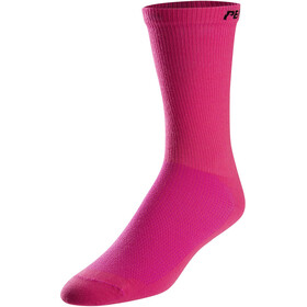 PEARL iZUMi Attack Tall Calcetines, screaming pink